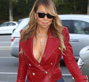 Mariah Carey : elle affiche sa poitrine dans un soutien-gorge original
