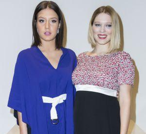 Léa Seydoux et Adèle Exarchopoulos : duo de charme à la Fondation Vuitton