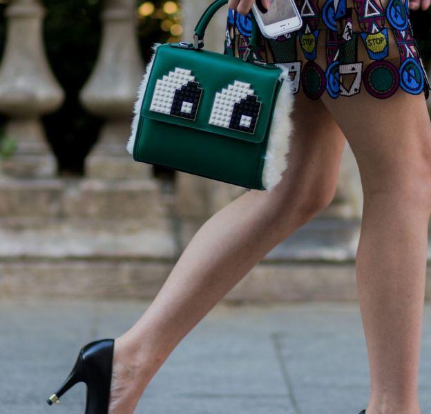 """Ce sac Fendi illustre parfaitement la tendance """"toy bag""""."""
