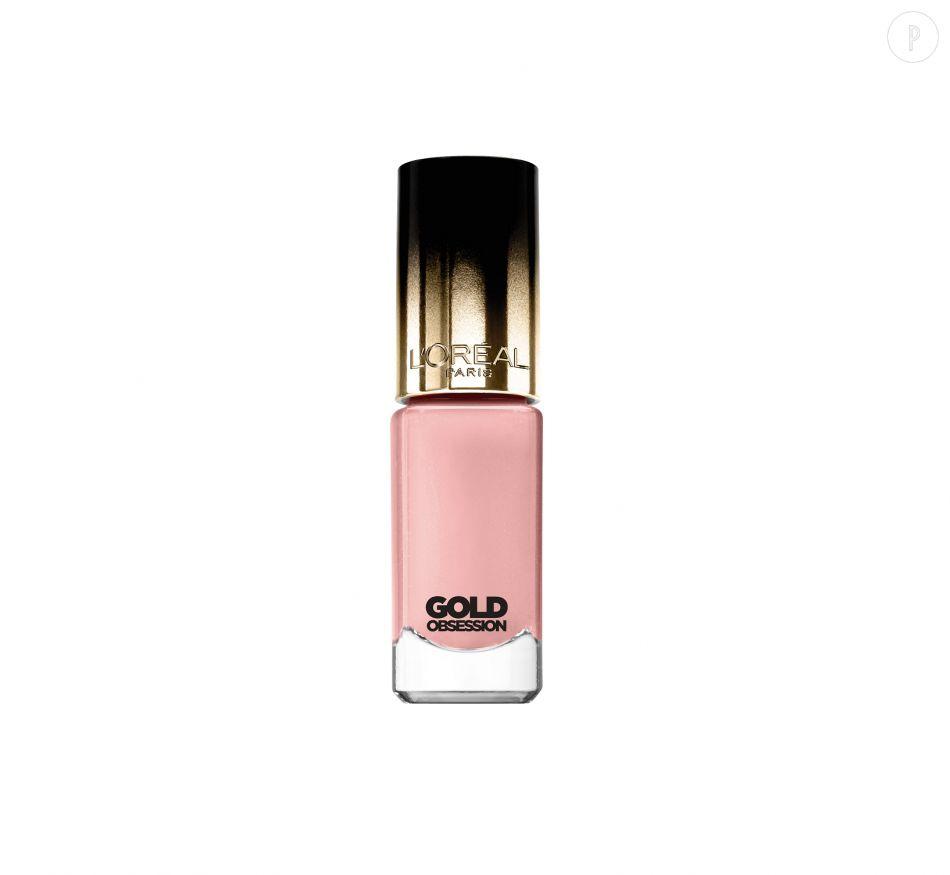Vernis Pink Gold de L'Oréal Paris, 6,20€.