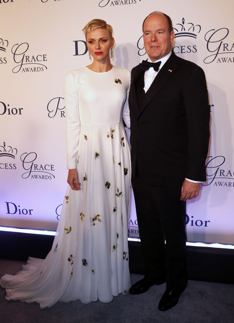 Charlene et Albert de Monaco sur leur 31 à New York.