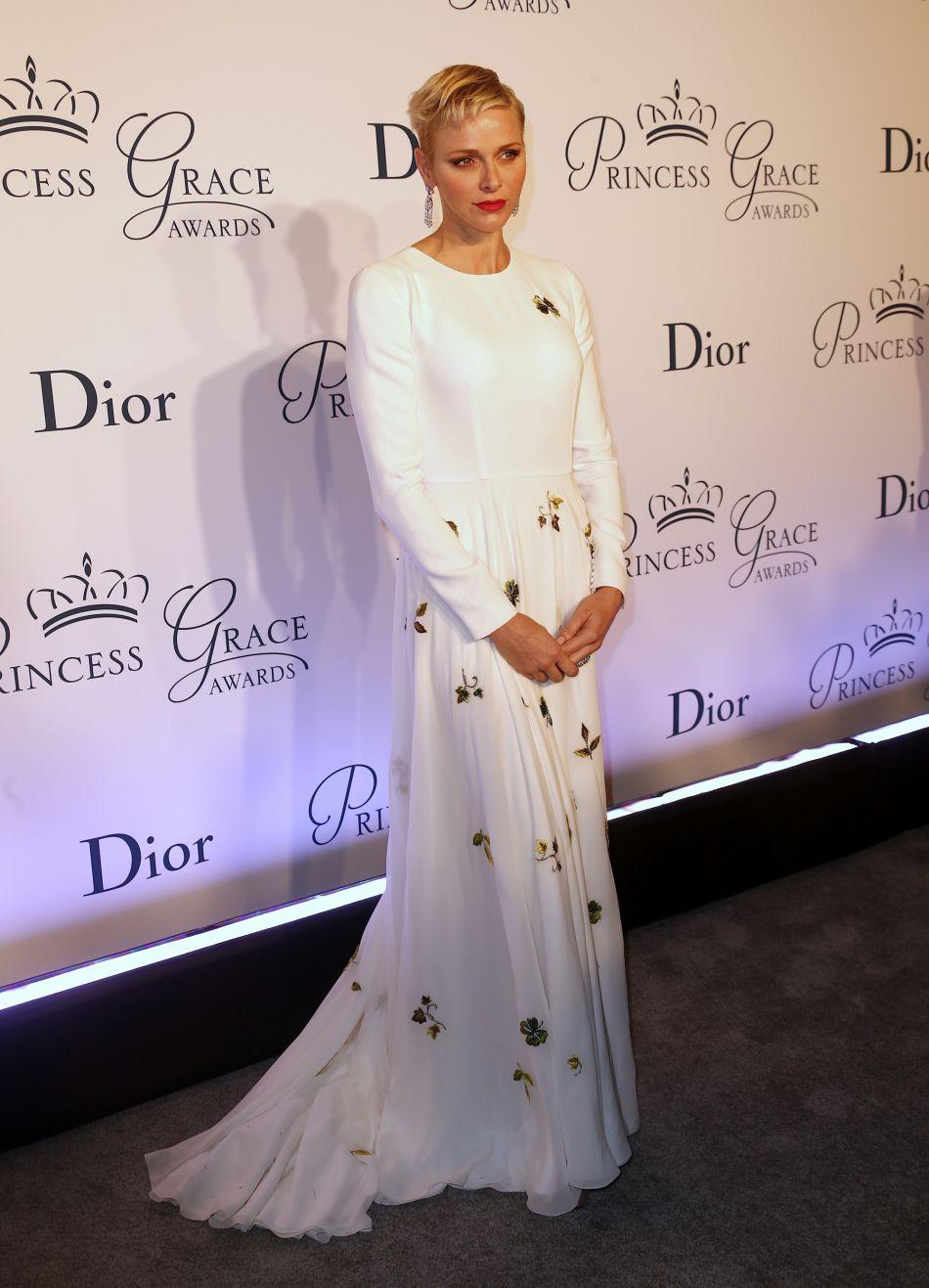 Charlene de Monaco sublimée par Dior.