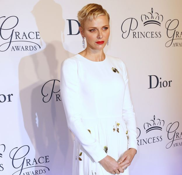Charlene de Monaco au Princess Grace Awards Gala 2016 à New York le 24 octobre 2016.
