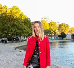 La jeune femme de 21 ans vient de devenir l'égérie de la marque IKKS.