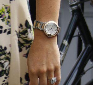 La bague de fiançailles de Pippa signée du joaillier Robinson Pelham.
