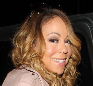 Mariah Carey : décolleté profond et bas résille pour la nouvelle célibataire !