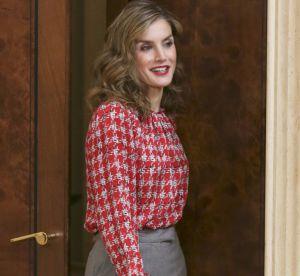 Letizia d'Espagne : rayonnante malgré une tenue classique