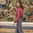 La sublime reine d'Espagne, Letizia Ortiz