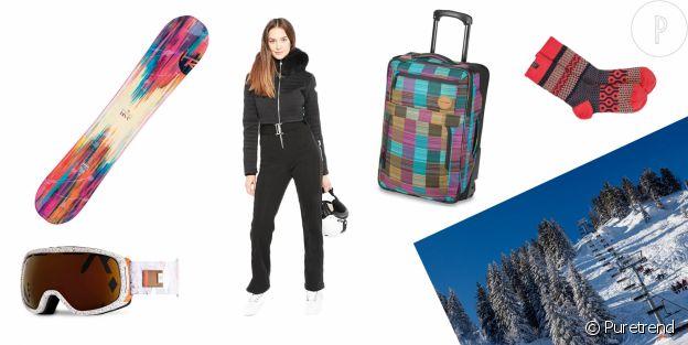 Des vacances à Mégève ? Voici la valise idéale.