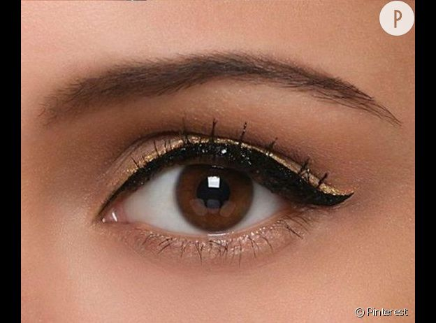 Idées maquillage pour les yeux marrons.