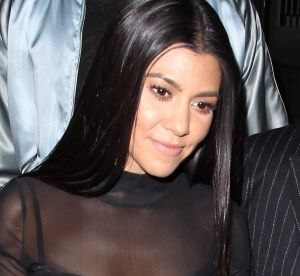 Kourtney Kardashian : selfie sans make-up pour dire bonne nuit
