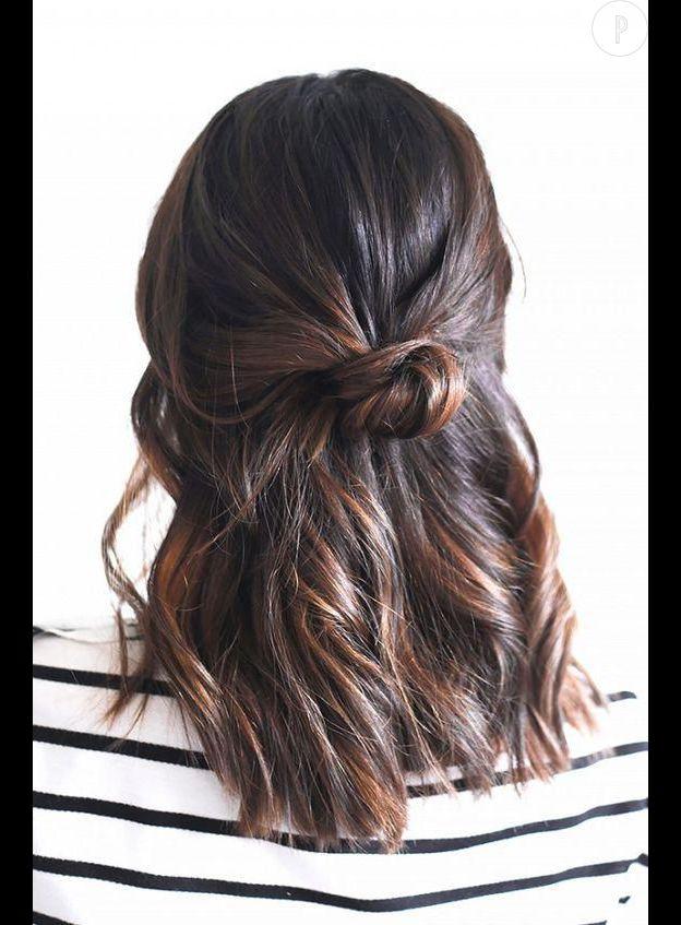 10 Coiffures Pour Les Cheveux Mi Longs Puretrend