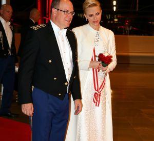 La princesse Charlène de Monaco lors de la fête nationale monégasque