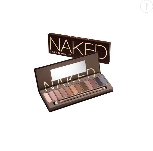 Naked Palette d'Urban Decay, 51€.