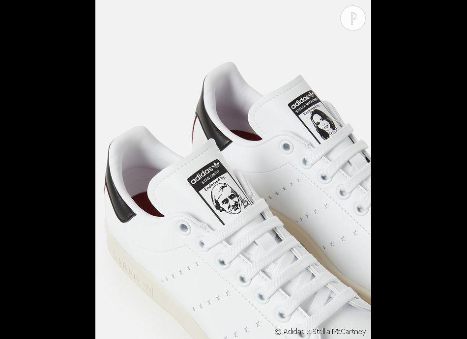 be7d3818f9b2e Stella McCartney lance avec Adidas la toute première Stan Smith vegan -  Puretrend