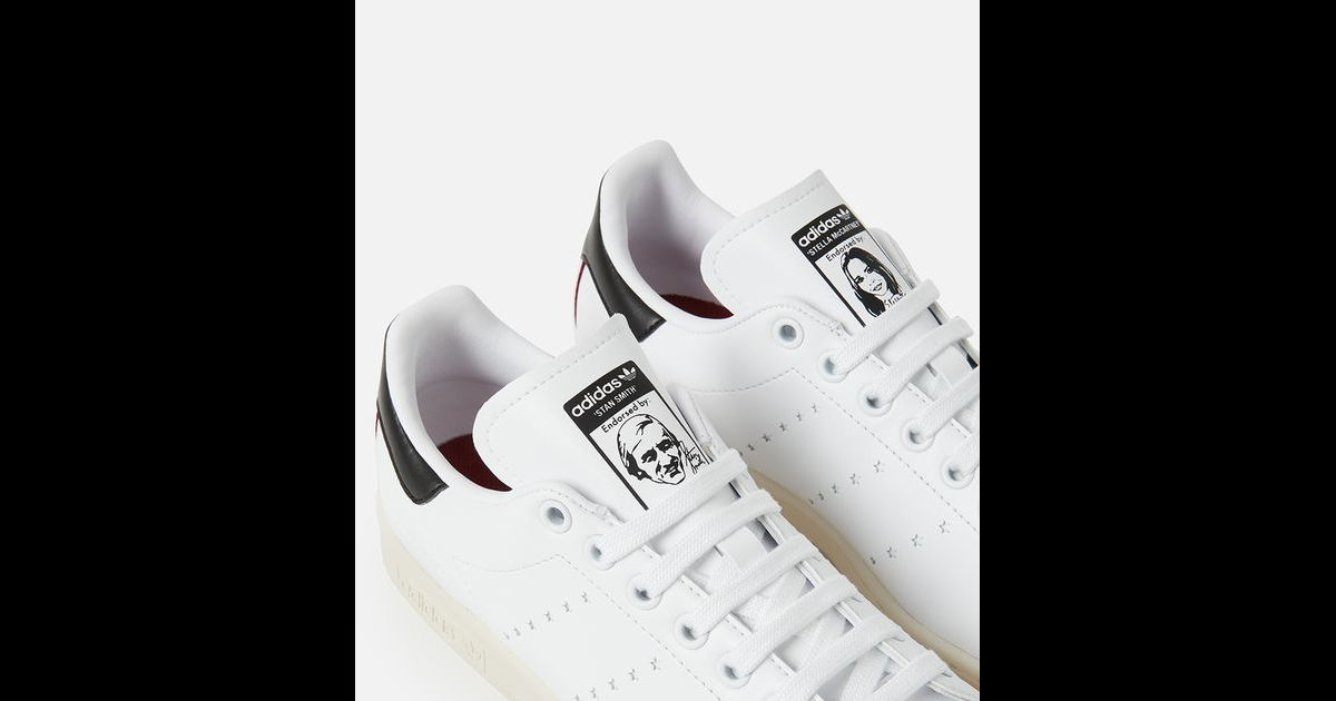 revendeur cb2ab ec666 Stella McCartney lance avec Adidas la toute première Stan ...
