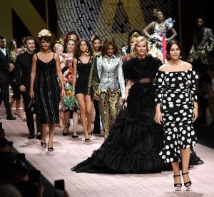 Dolce & Gabbana : les quinquas investissent le podium et on ne voit qu'elles