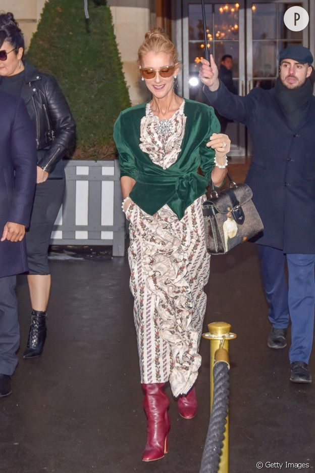 Prix usine 2019 Royaume-Uni recherche de liquidation Céline Dion : ses looks les plus fous lors de sa venue à ...