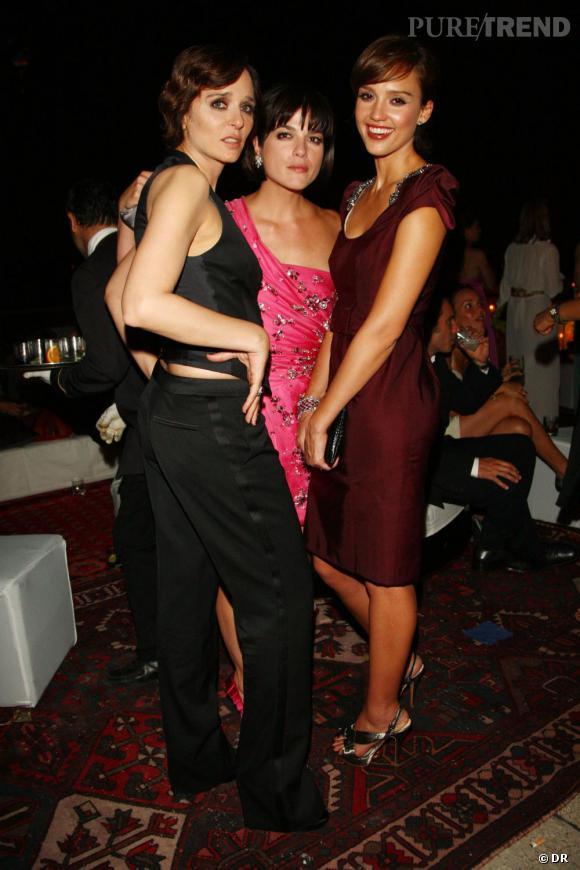 Valeria Golino, Selma Blair et Jessica Alba