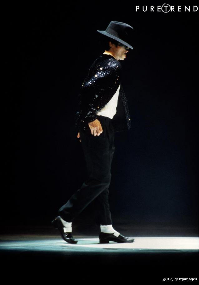 moonwalk michael jackson. Michael Jackson présentait