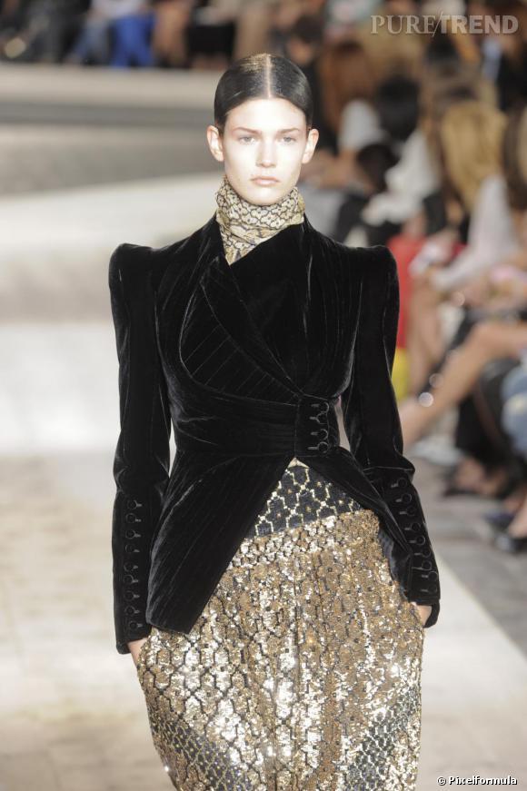 Défilé Haute Couture Automne-hiver 2009-2010 : Givenchy