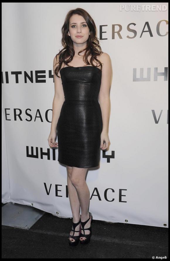 Une robe bustier pour un style glam rock.