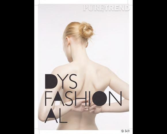 Affiche expo Dysfashional paris
