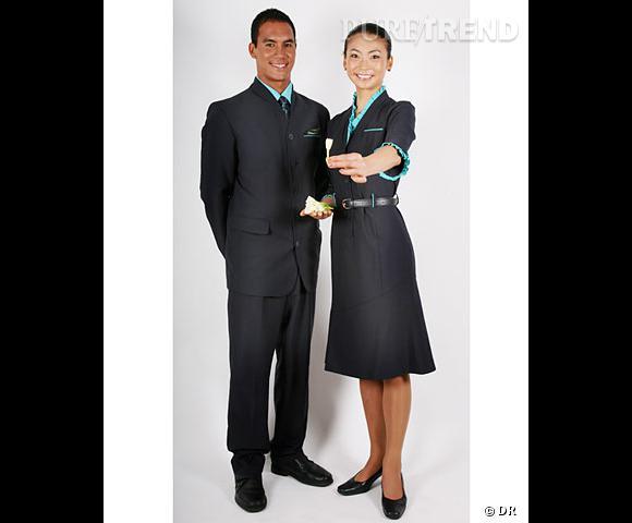 Balanciaga dessine les nouveaux uniformes d'Air Tahiti Nui
