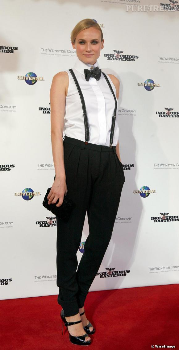 Diane Kruger dans un ensemble Chanel
