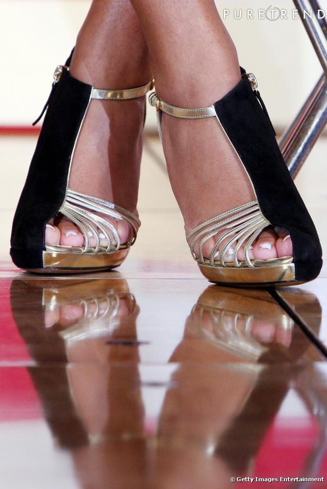 sandales a talon