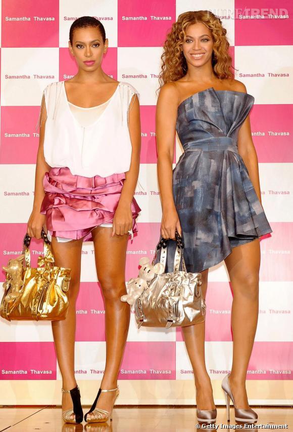 Solange et Beyoncé Knowles
