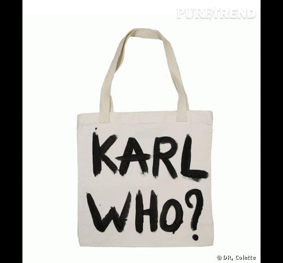 """Sac """"Karl Who ?"""" par Naco Paris"""