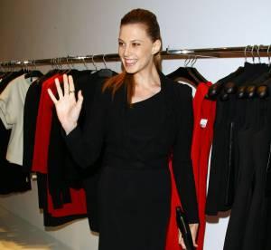 Elettra Rosselini la joue rock en Calvin Klein