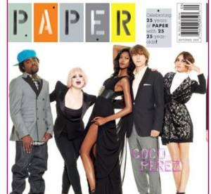 Paper Mag magazine fête 25 ans : Kelly Osbourne, Alexa Chung en couverture
