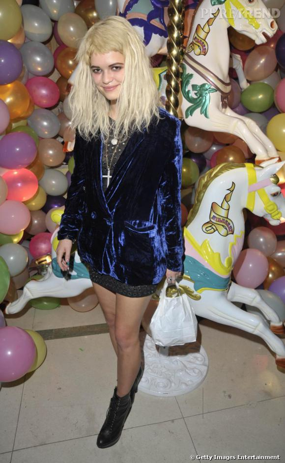 Soirée Mulberry :     Pixie Geldof
