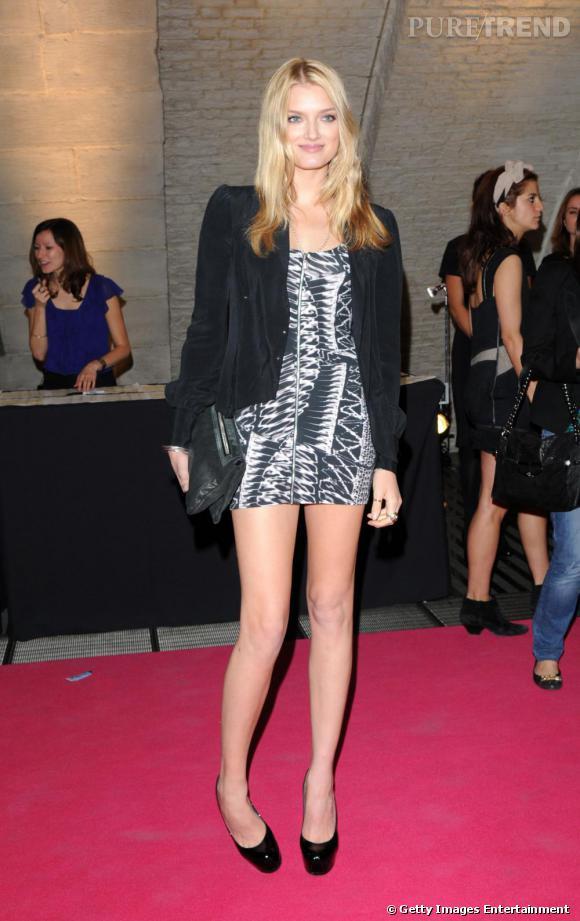 Soirée Vogue :     Lily Donaldson