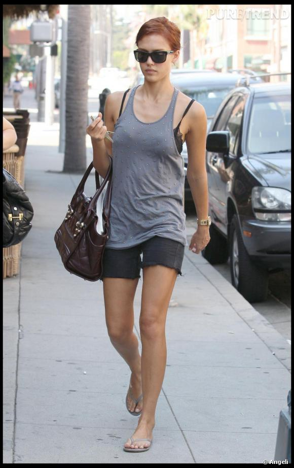 Jessica Alba à Beverly Hills
