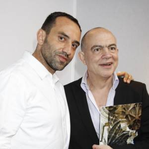 Riccardo Tisci avec Christian Lacroix