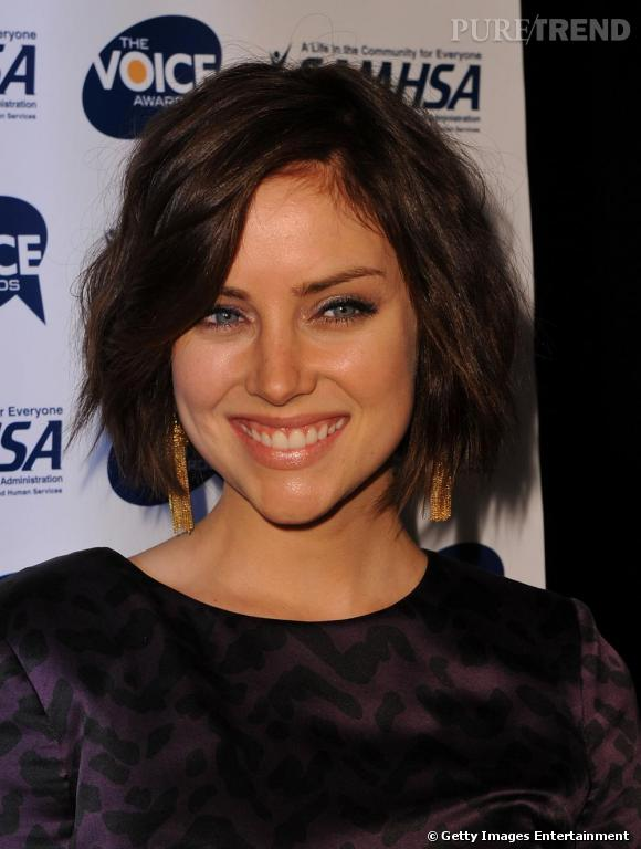 Jessica Stroup aux Voice Awards à Los Angeles