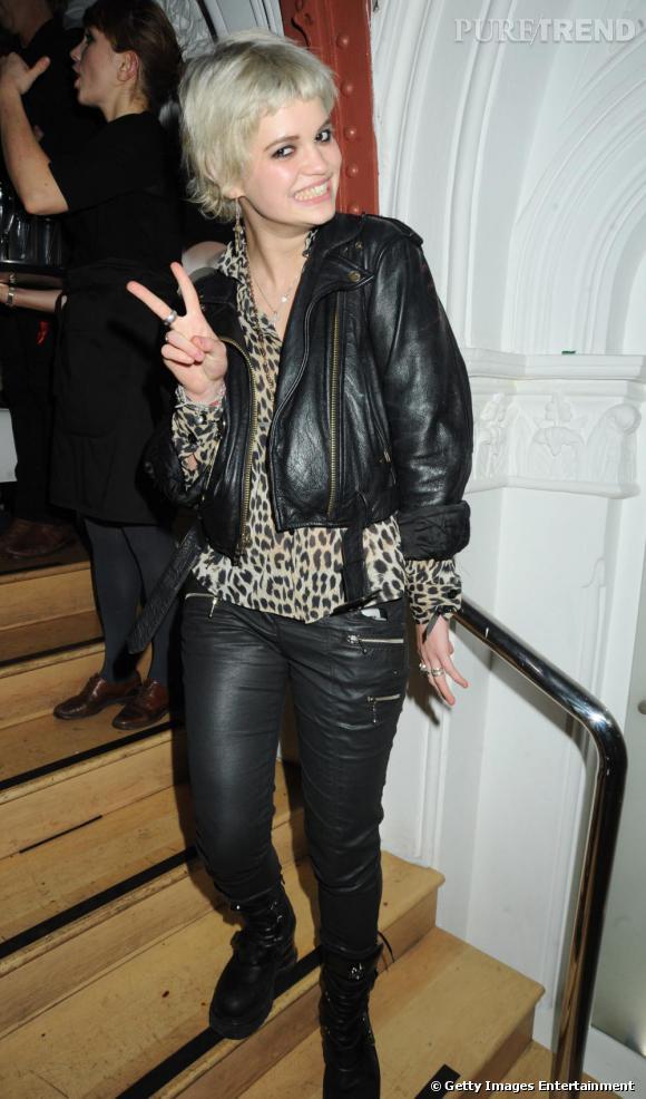 Pixie Geldof à la soirée SingStar Take That Extravaganza à Londres