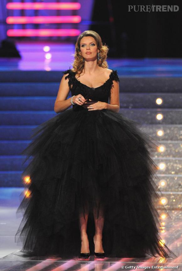 Sylvie Tellier durant l'election de Miss France