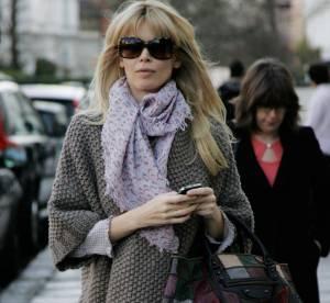 Claudia Schiffer, un style doudoune mais pointu... A Shopper !