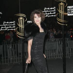 Fanny Ardant lors du Festival du Film de Marrakech
