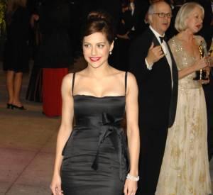 Et lorsqu'elle se mettait sur son 31, Brittany optait pour une robe fourreau, idéale pour donner de l'allulre à une silhouette aussi menue que la sienne.