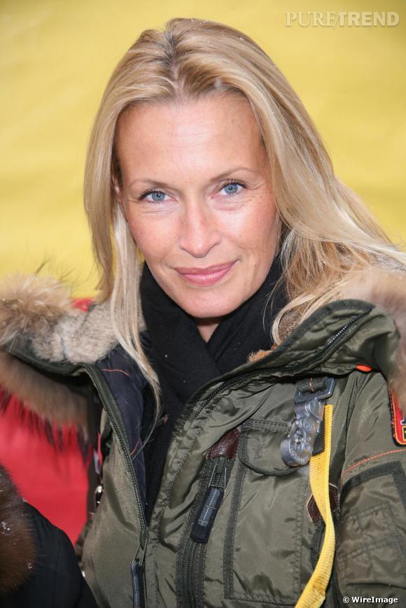 Estelle Lefebure à Paris lors de l'opération Pièces Jaunes