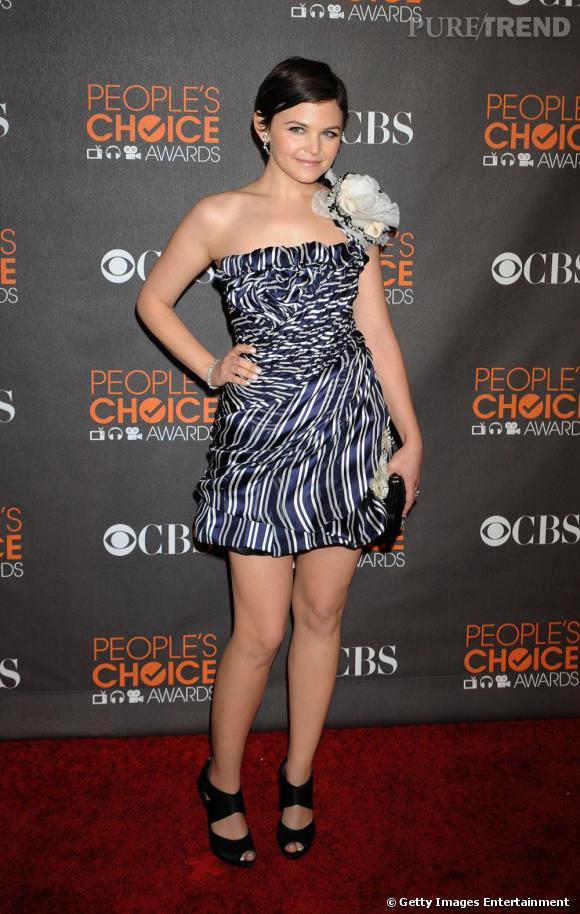 Ginnifer Goodwin lors People's Choice Awards à Los Angeles