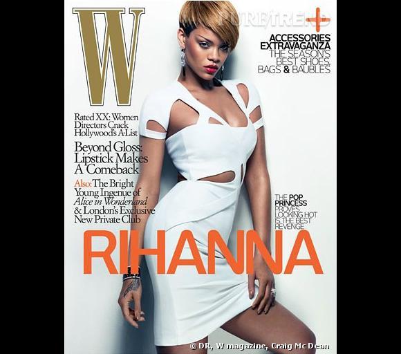 W magazine, couverture du mois de fevrier