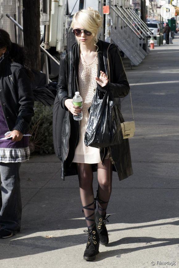 Taylor Momsen dans les rues de New-York