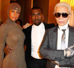 Anna Mouglalis, Alexa Chung, Kanye West au premier rang du défilé Chanel