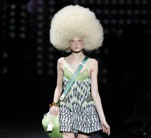 Défilé Louis Vuitton - Hanne Gaby Odiele - Paris Printemps Eté 2010